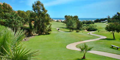 Golf vid Algarvekusten