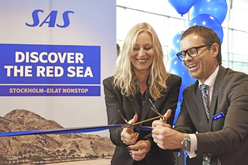 Premiärflyg till ön Madeira med SAS från Arlanda